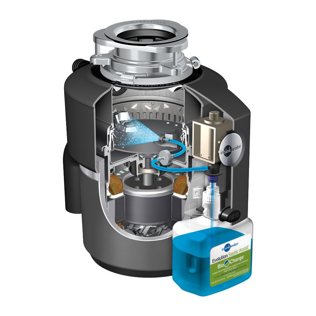 Evolution Septic ist Garbage Disposal, 3/4 HP|InSinkErator|Emerson on skyline mobile home wiring diagram, mobile home electrical wiring diagram, franklin mobile home wiring diagram,