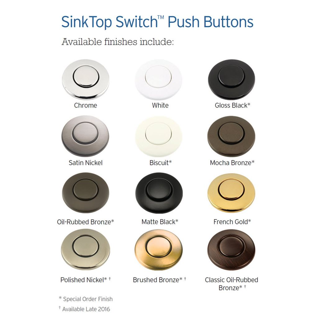 Etonnant STSButton_FinishGuide_300dpi ·  T700_x5_bab39d963040181cae70b49918454bd3_72dpi ·  Disposer_In_Use_CloseView_v5_2012_11_07_300dpi