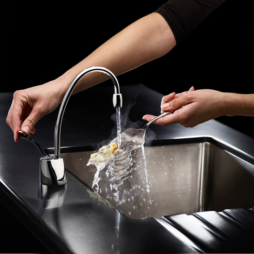 Indulge Contemporary Hot Only Faucet (FGN1100)|InSinkErator|Emerson