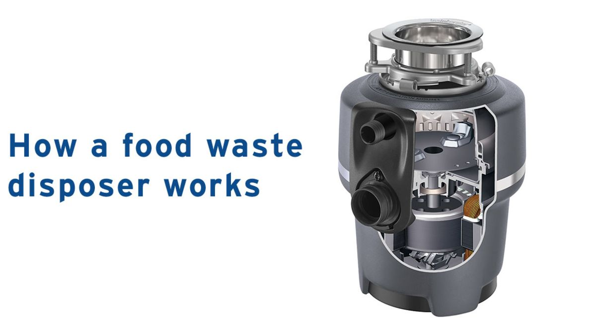 Food Garbage Waste Disposers For Your Home Insinkerator Uk Emerson Industrial Compactors Wiring Diagrams How A Disposer Works Slider